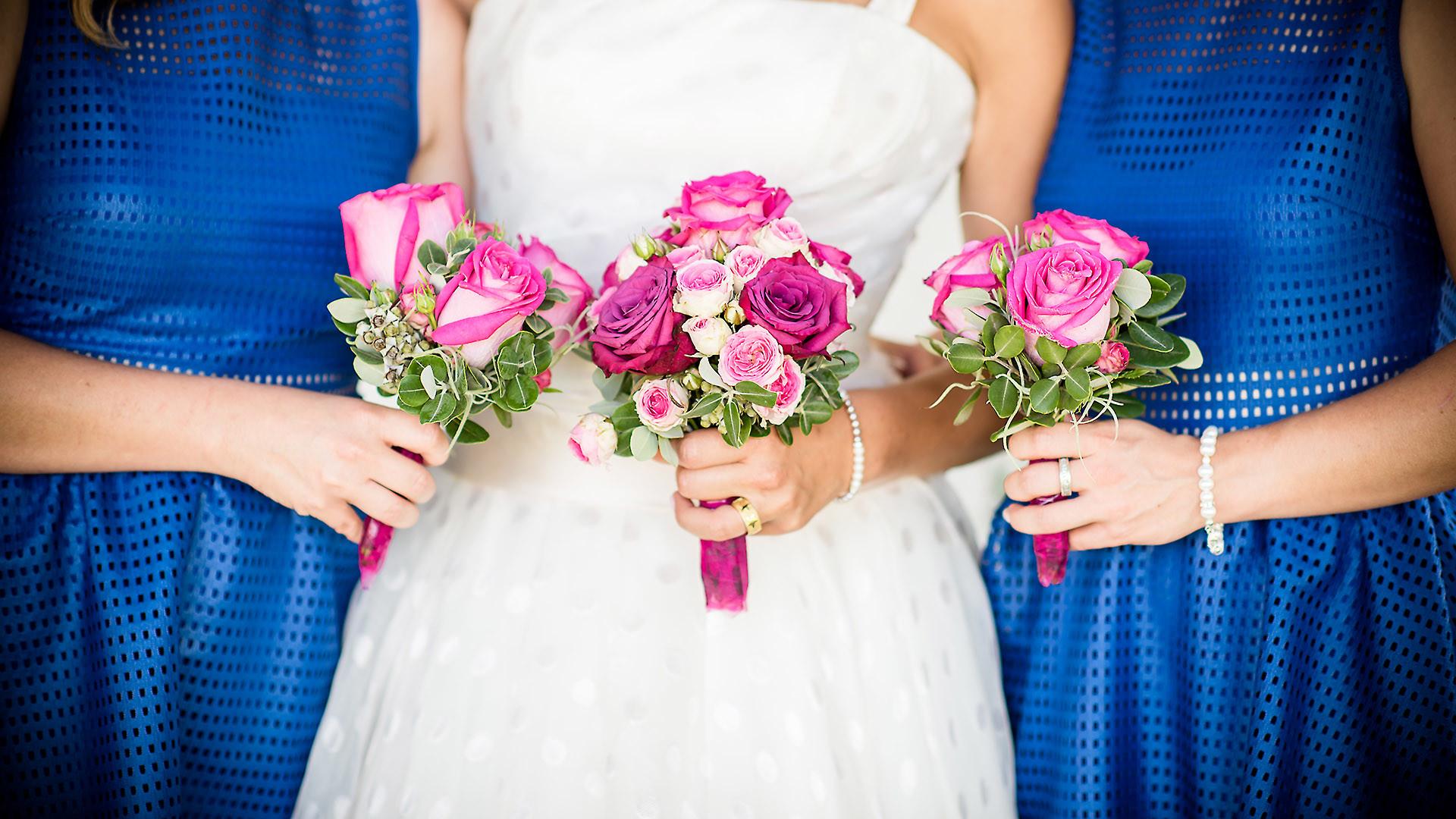 Hochzeitsfotograf mit Frauen