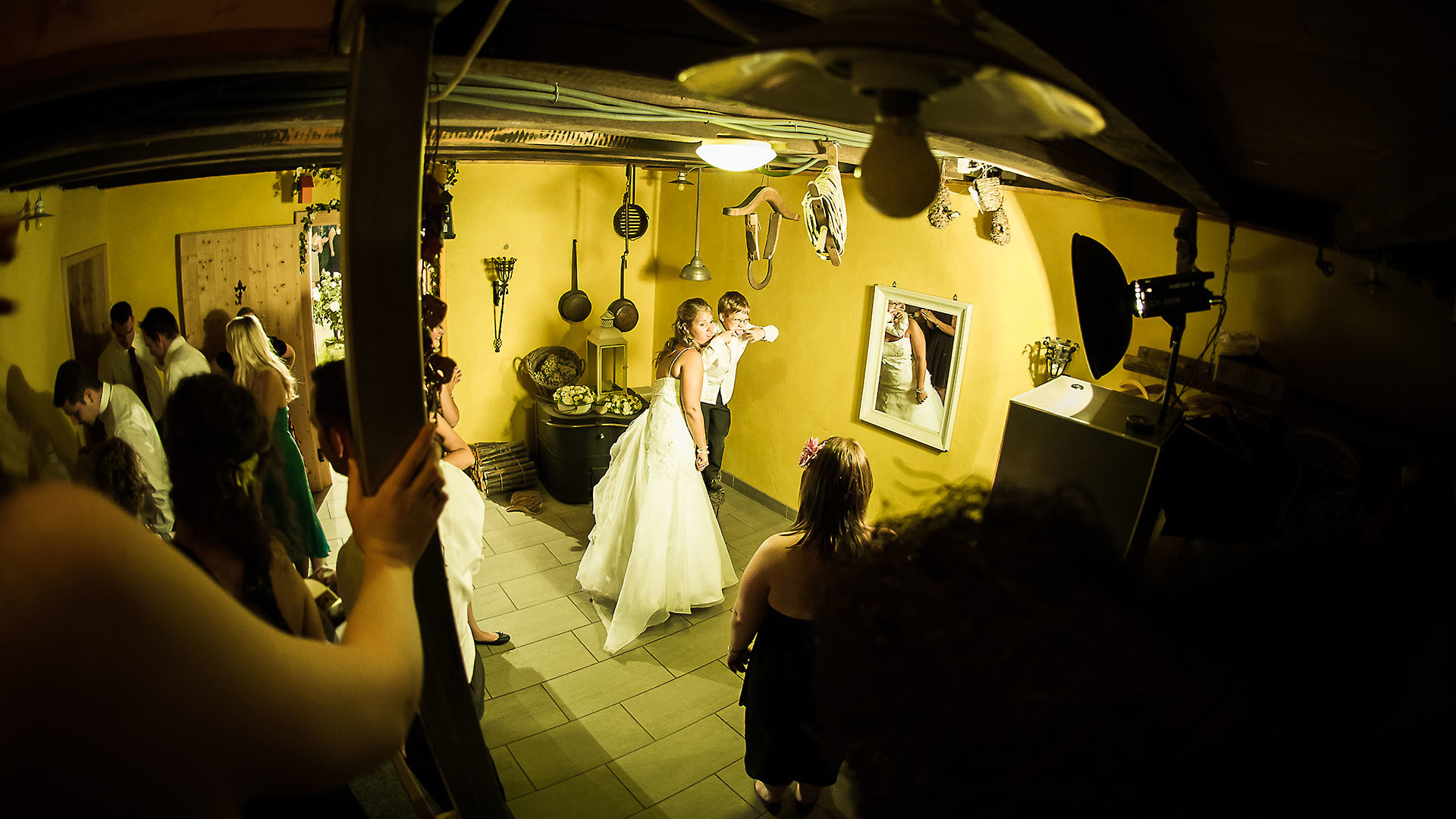 Fotobox auch fürs Brautpaar