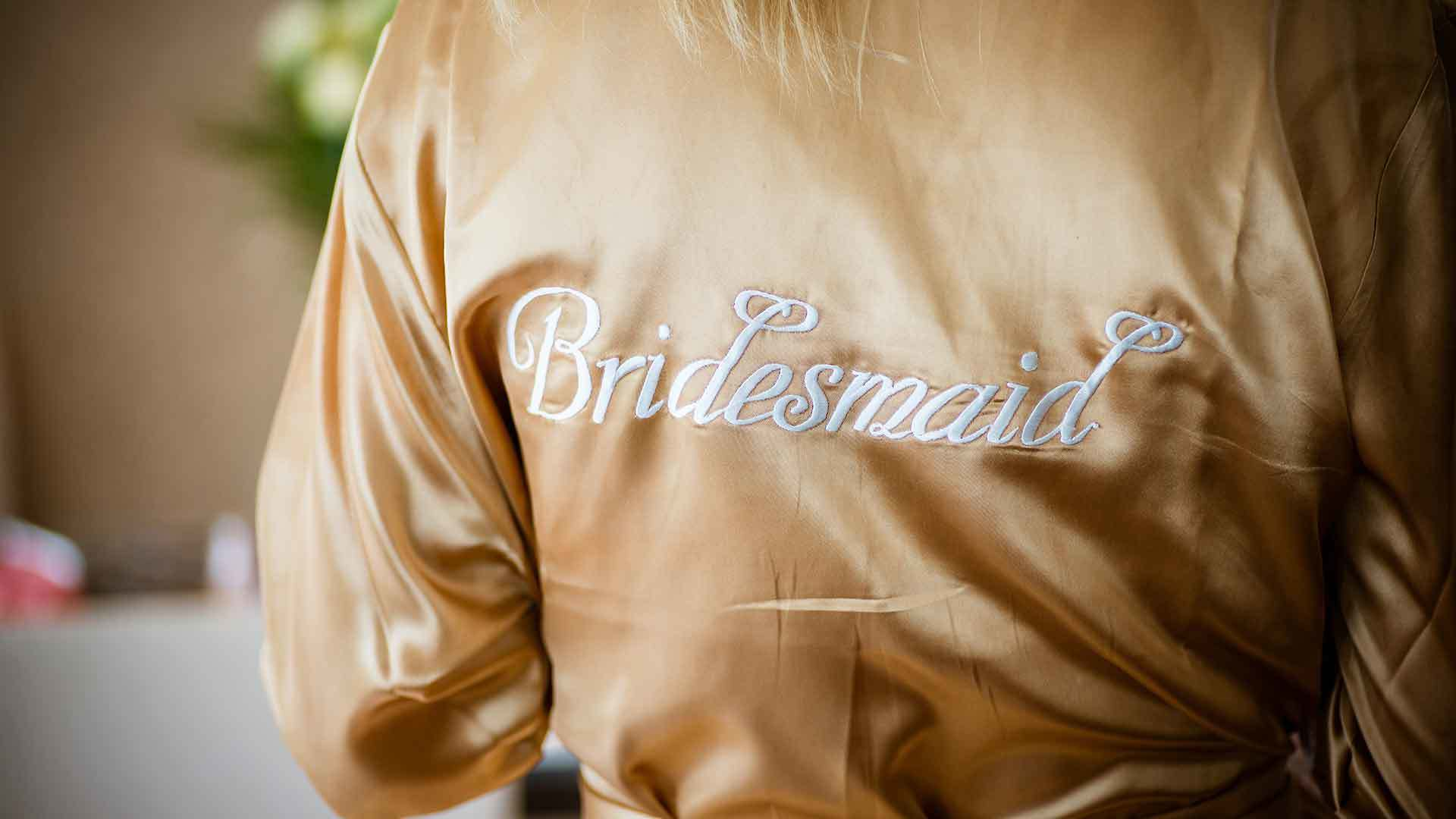 Bridesmaid - Getting Ready