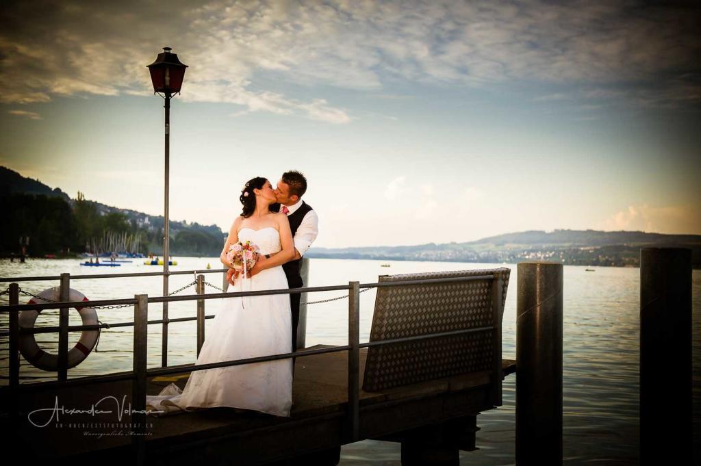 Hochzeitsfotograf am Hallwilersee