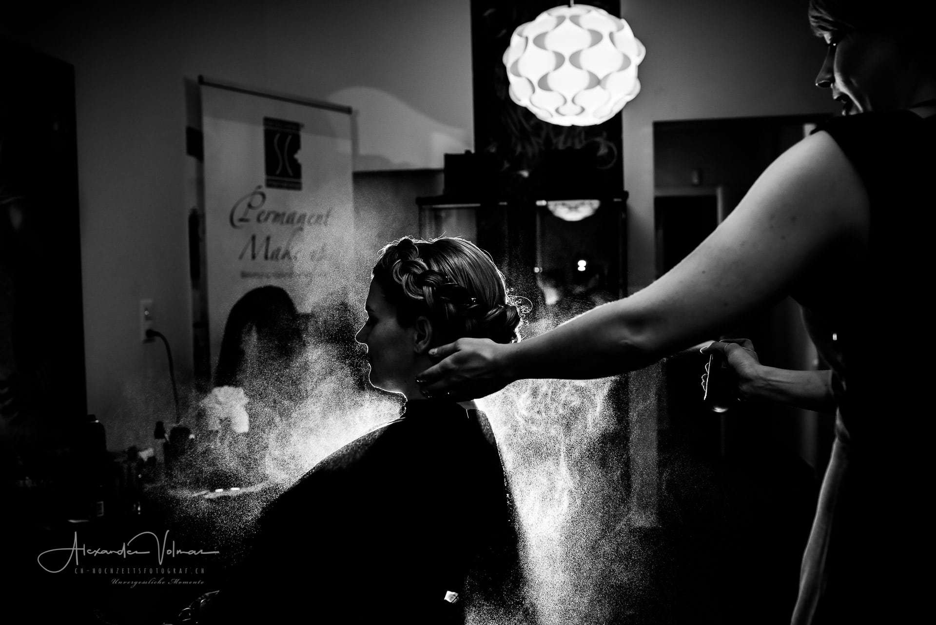 Getting Ready Coiffeur
