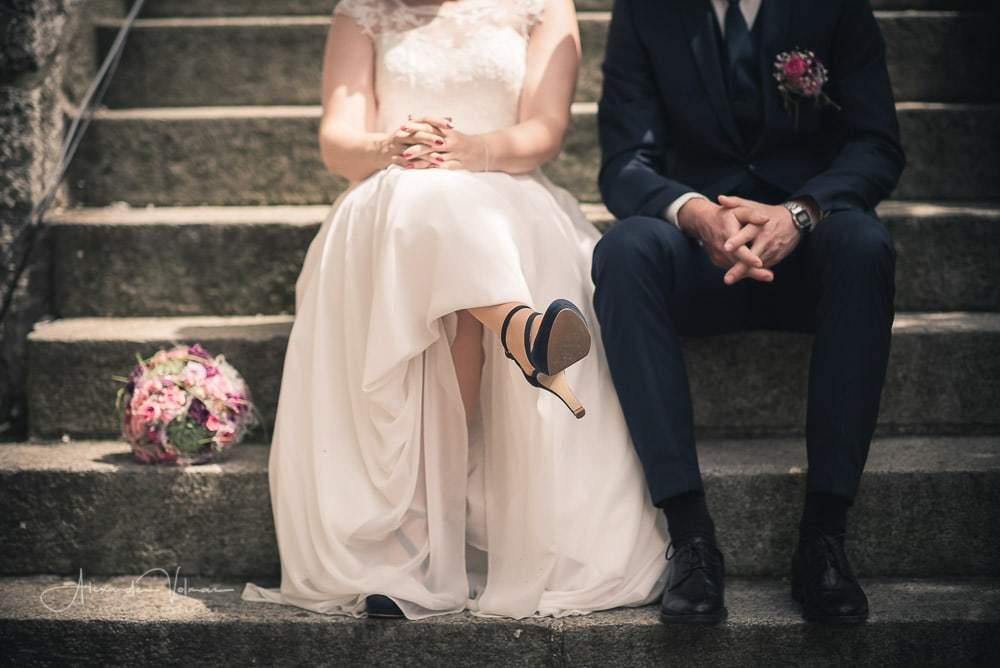 Detailaufnahme Beine, Hochzeitsfotograf