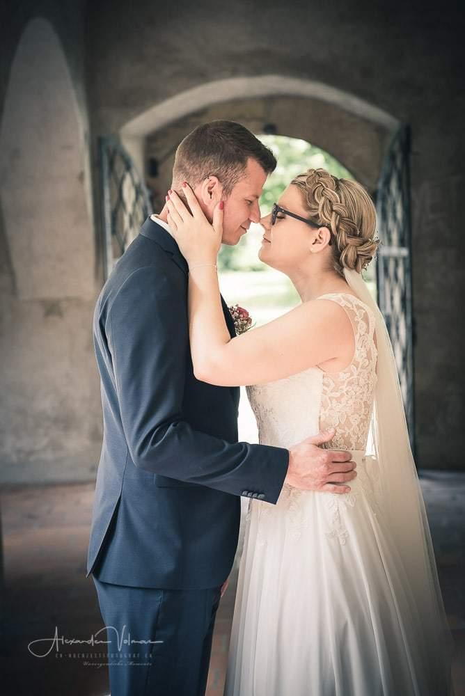 Romantisches Fotoshooting im Kreuzgang Schönenwerd